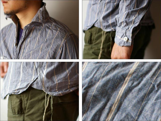 orslow [オアスロウ]  chambray shirts [シャンブレーシャツ] _f0051306_22385495.jpg