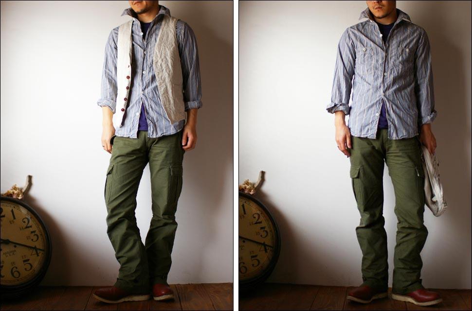 orslow [オアスロウ]  chambray shirts [シャンブレーシャツ] _f0051306_22392038.jpg