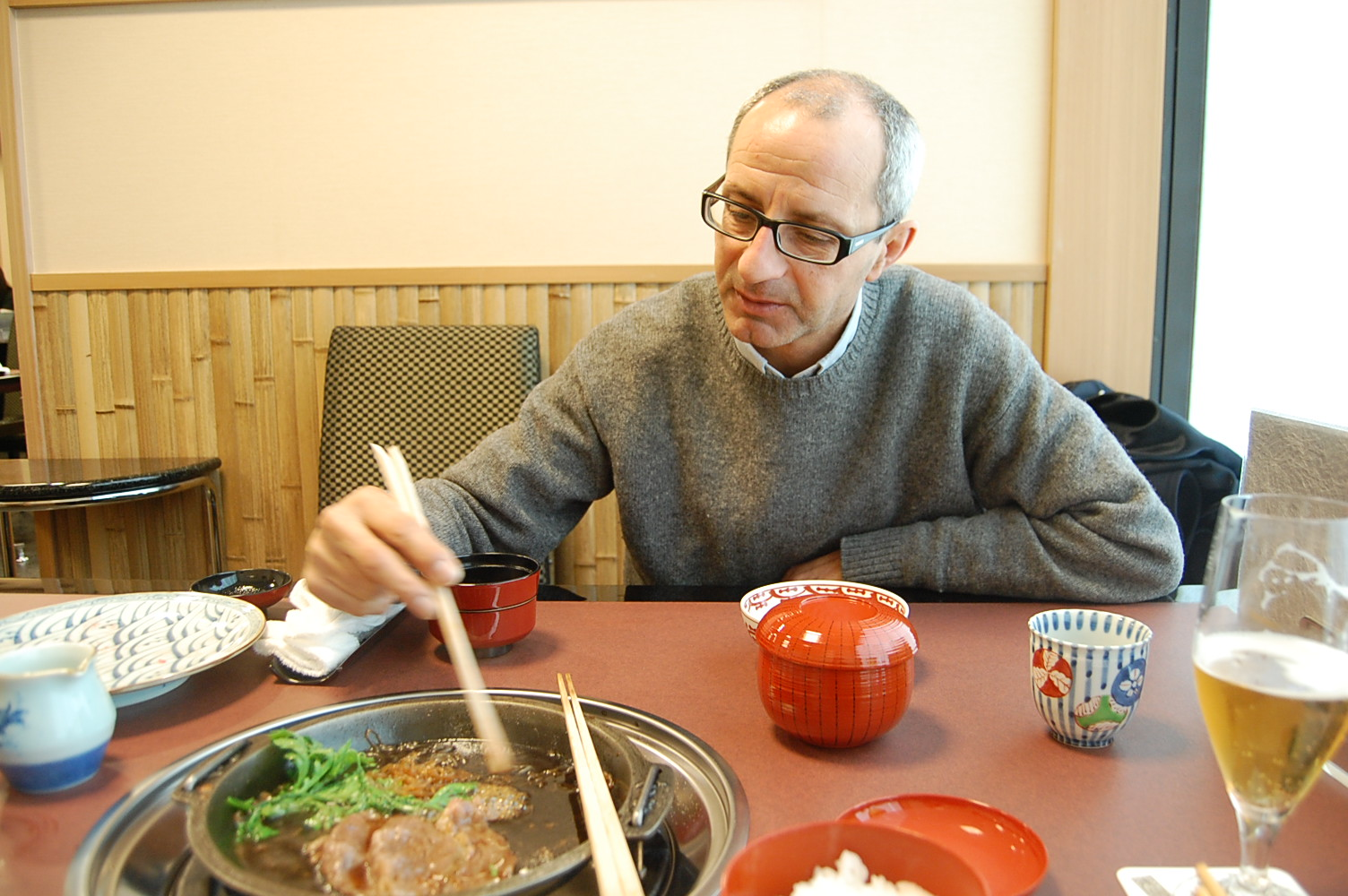 シチリア人日本滞在記 東京 その壱 バゥ_d0084229_21392510.jpg