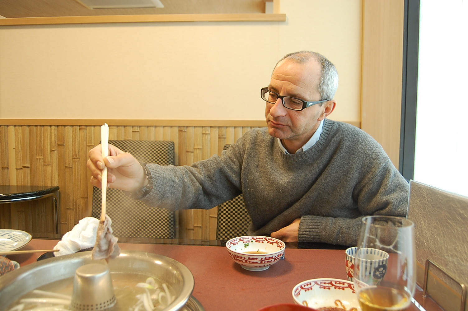 シチリア人日本滞在記 東京 その壱 バゥ_d0084229_21402112.jpg