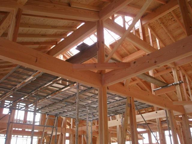 船木の家 屋根瓦葺き_a0115017_2102458.jpg