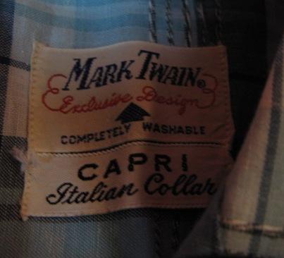3/7(土)入荷分!50'S Mark Twain SHIRTS_c0144020_142343100.jpg