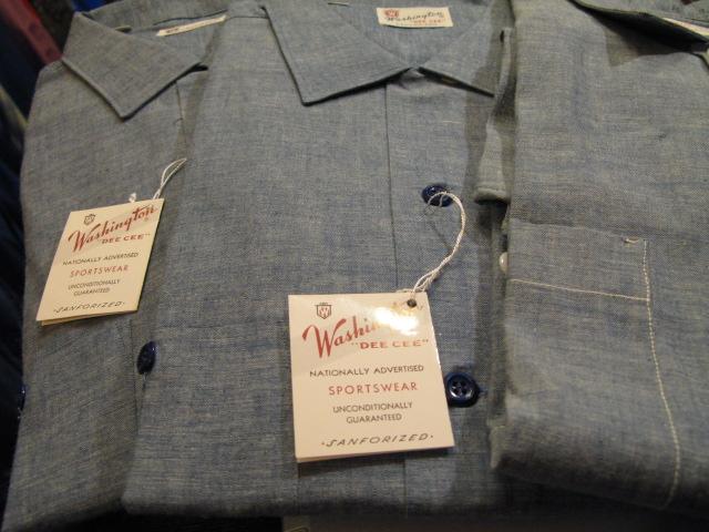 3/7(土)入荷分!Tシャツ!60'S 半袖シャンブレーシャツ デッドストック!_c0144020_1428614.jpg