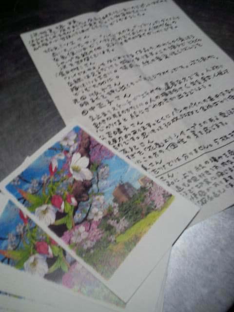 永沢先生からの添削のお便り_f0091634_224037.jpg
