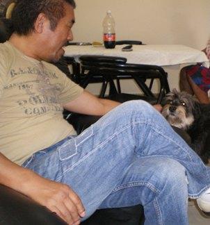 sunnyさんとキューバ犬_d0041268_16171275.jpg