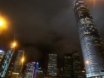 香港2日目の夜のヴィクトリア湾ナイトクルーズ_c0180686_146059.jpg