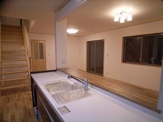 「南粕谷の家」 キッチンセット_f0059988_018775.jpg