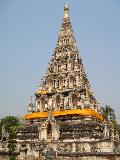 ウィエン・クムカームの仏塔 : ...