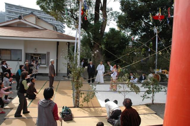 大塚八幡神社 祈年祭~春神楽~_c0045448_14342132.jpg