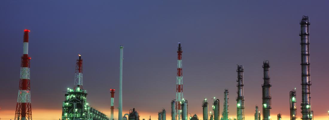 夕暮れの工場パノラマ 千葉・五井海岸 2002年11月4日_c0190190_591972.jpg