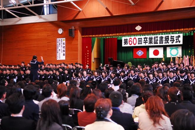 武雄中学校卒業式_d0047811_23214788.jpg
