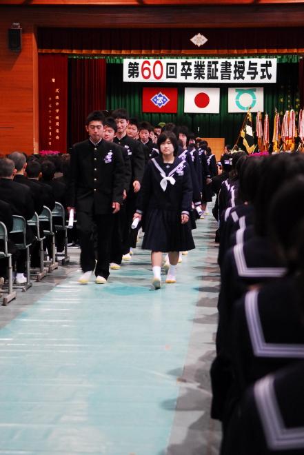 武雄中学校卒業式_d0047811_23222956.jpg