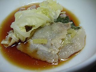 豚バラと白菜の重ね蒸しと焼き鮭_c0025217_111081.jpg