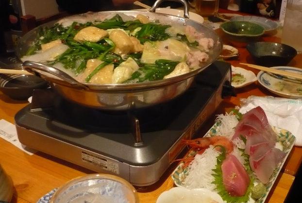 本日の一献 《青森の酒でモツ鍋パーティー!!》_f0193752_21421391.jpg