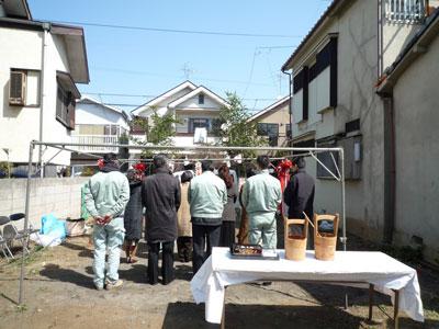 地鎮祭@久我山の家_c0131878_1164392.jpg