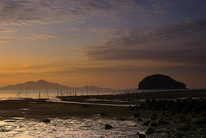 向島の夜明け_c0152379_13365372.jpg