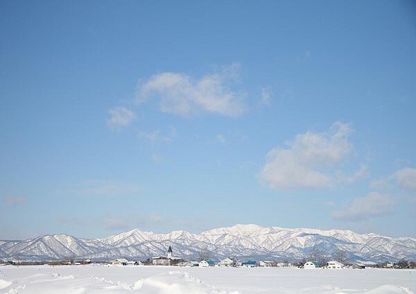 冬の樺戸連山_c0113597_1565392.jpg