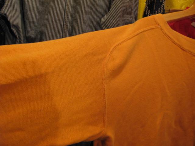 50'S BRENT フリーダムスリーブ スエットシャツ!_c0144020_1754235.jpg