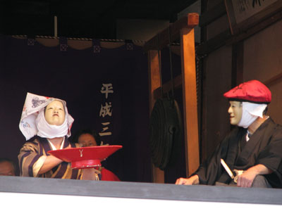 嵯峨清涼寺(釈迦堂)大念仏狂言_e0048413_21215654.jpg