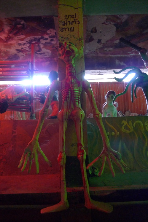 サワディThailand(2日目)「地獄寺」赤系_f0170995_19295122.jpg