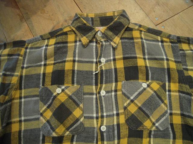 ネルシャツ色々!_d0121303_13373047.jpg