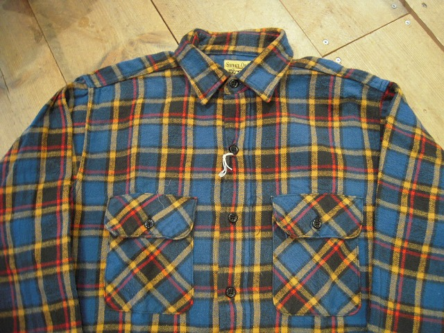 ネルシャツ色々!_d0121303_13463595.jpg