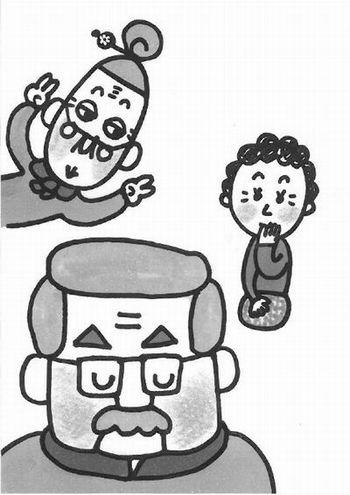 もったいないばあさん日記『感謝の気持ち』/文&絵:真珠まりこ_a0083222_12314767.jpg