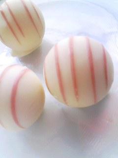 銀のぶどう 苺のトリュフ_b0077251_12501660.jpg