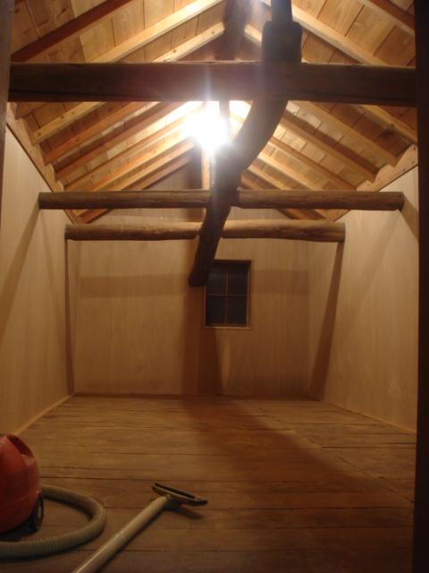 車庫の改装 完成_b0124462_20362868.jpg