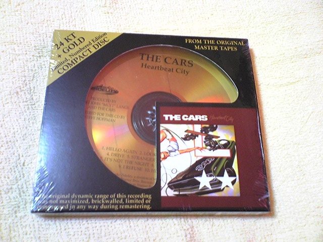 THE CARS / HEARTBEAT CITY (24 KT + GOLD COMPACT DISC)_c0065426_20563414.jpg