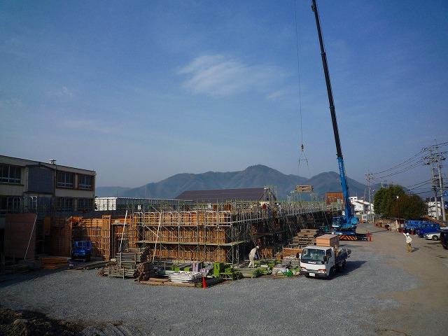 久世中学校 校舎新改築工事 _f0151251_10525333.jpg