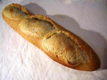 紅茶酵母でフランスパン_e0167593_101440.jpg