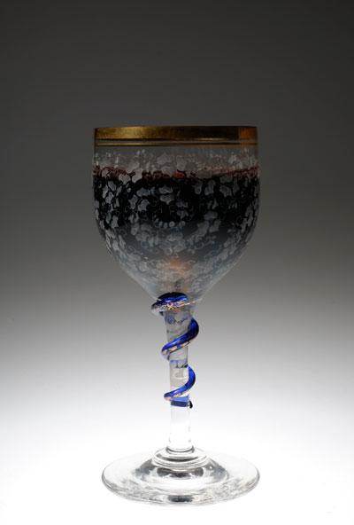 Baccarat 蛇のグラス。_c0108595_053399.jpg