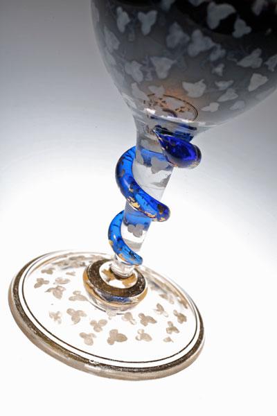 Baccarat 蛇のグラス。_c0108595_093984.jpg