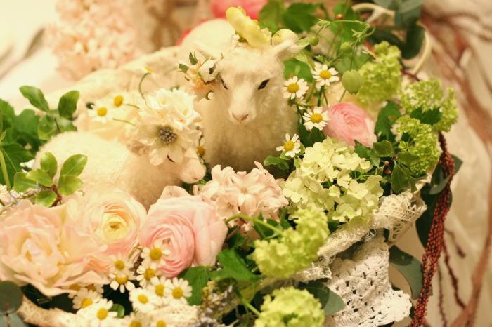 夢のように 花とリボン アフィーテ目黒様へ_a0042928_23184066.jpg
