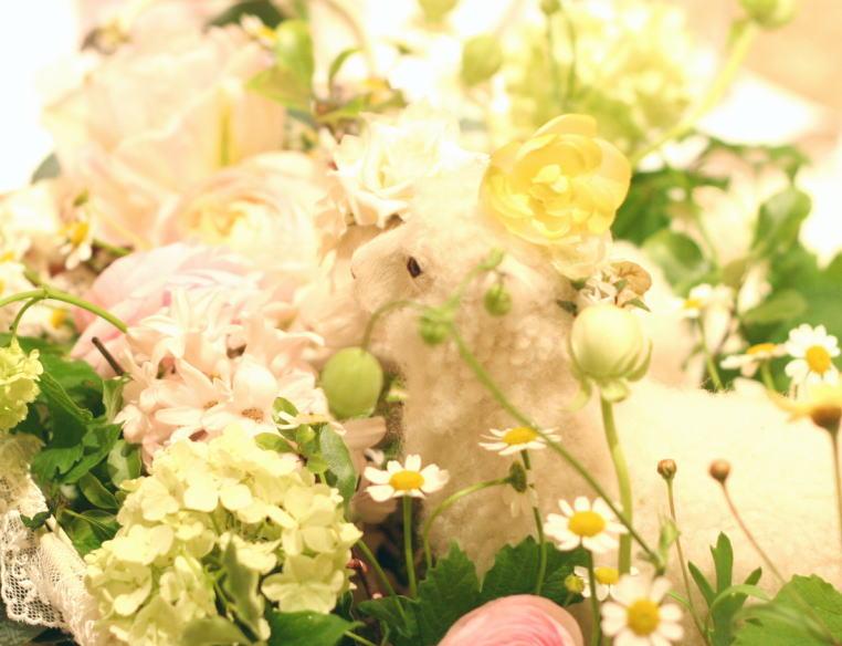 夢のように 花とリボン アフィーテ目黒様へ_a0042928_23203673.jpg