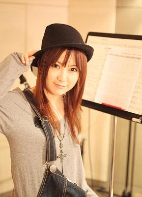 キャラクターソング「曇りのち晴れ」/テンを歌う喜多村英梨さん:オフィシャルコメント_e0025035_237454.jpg