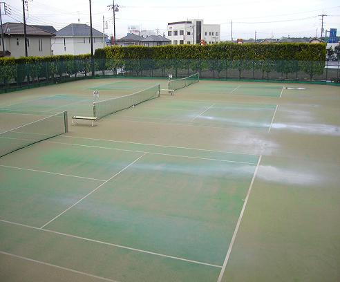 3月20日(金曜日) テニスコート状況_a0119344_1004297.jpg