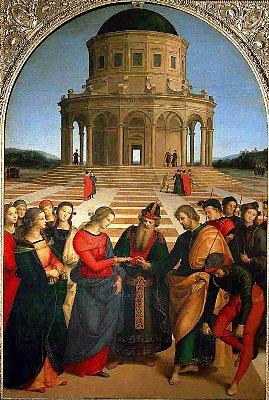 ラファエッロ「聖母の結婚」の修復完了_f0179663_14134659.jpg