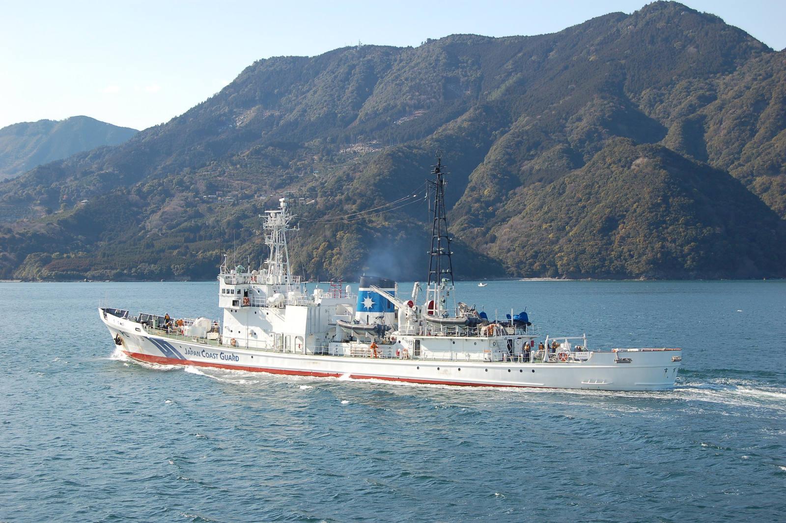 Tags:#尾鷲港 #巡視船  巡視船 すずか
