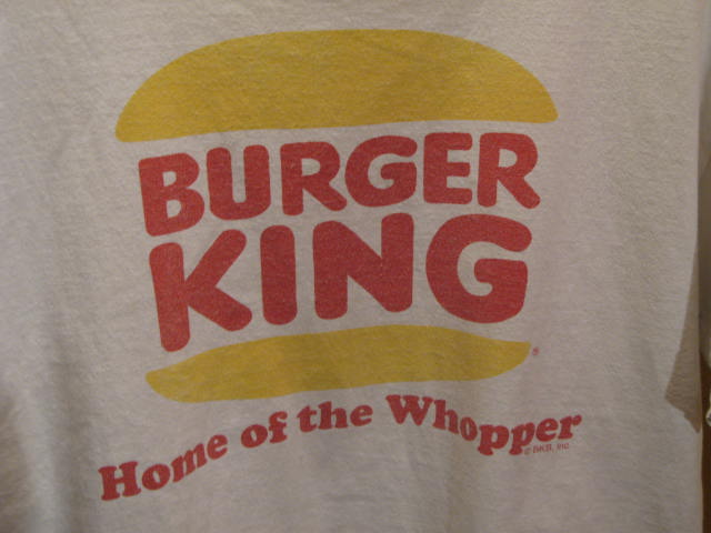 BUGER KING T-shirts_c0144020_15452018.jpg