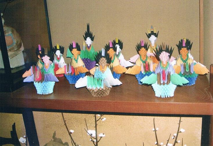 クリスマス 折り紙 折り紙ブロック : cielito.exblog.jp