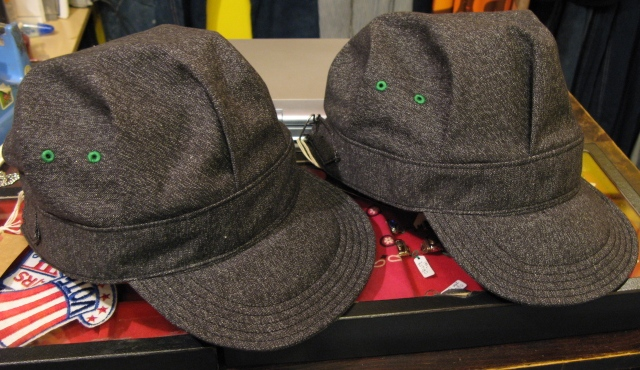 mecca オリジナル!Dapper\'s 別注 ブラックシャンブレーWORK CAP! _c0144020_14165886.jpg