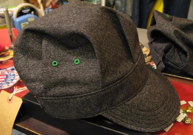 mecca オリジナル!Dapper\'s 別注 ブラックシャンブレーWORK CAP! _c0144020_14194142.jpg