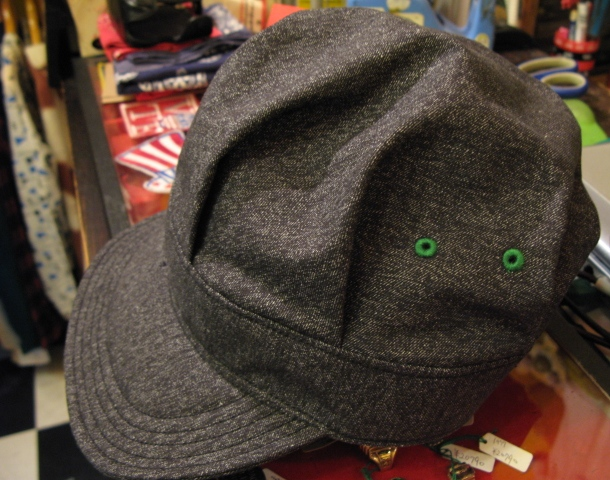mecca オリジナル!Dapper\'s 別注 ブラックシャンブレーWORK CAP! _c0144020_14195248.jpg