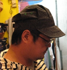 mecca オリジナル!Dapper\'s 別注 ブラックシャンブレーWORK CAP! _c0144020_21717.jpg