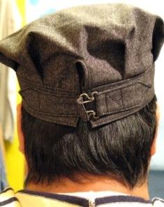 mecca オリジナル!Dapper\'s 別注 ブラックシャンブレーWORK CAP! _c0144020_2195335.jpg
