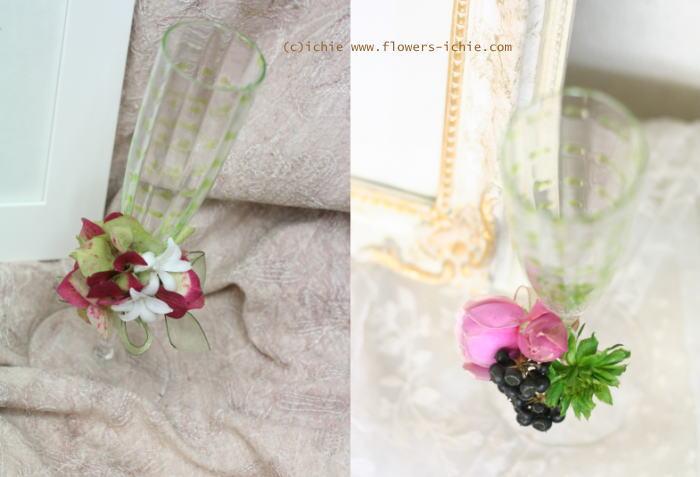 3月のレッスン リングピロー・ウェルカムボード・シャンパングラス装花 その2_a0042928_1924761.jpg