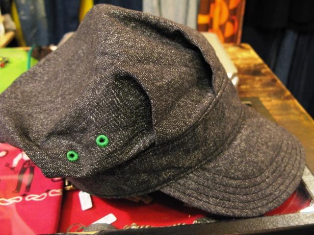 オリジナルWORK CAP 洗ってみました!_c0144020_14284617.jpg