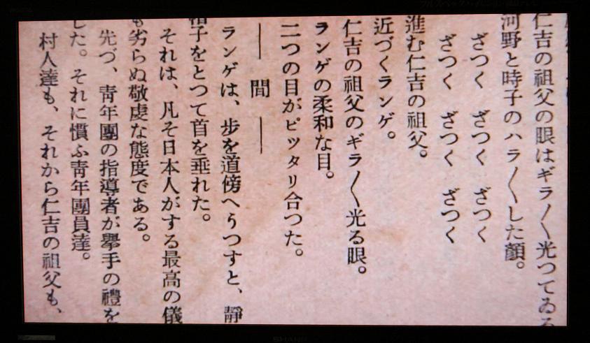 「達磨寺のドイツ人」        脚色 黒澤明_a0107574_8382412.jpg
